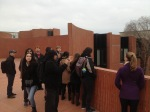 1_Students enjoying the roof plaza adjacent to the Barcelona School of Architecture (ETSAB) library