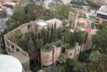 16_View of Ricardo Bofill's office and residence, formerly a concrete factory