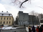 3 - Group Outside Libeskind's Judisches Museum Berlin