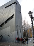 4 - Group Outside Libeskind's Judisches Museum Berlin