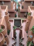9_Cascading balconies surrounding the interior courtyards