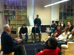 01_Clemson Students with David Mackay