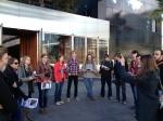 03_Renaissance Barcelona Fira Hotel_Adriana  Ribas explaining the proyect