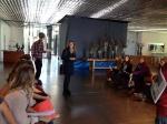 06_Renaissance Barcelona Fira Hotel_Adriana  Ribas explaining the proyect