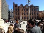 Pompeu Fabra University plaza