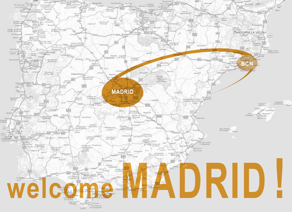 welcome Madrid