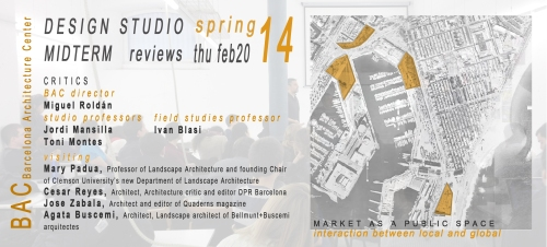 studio midterms flyer