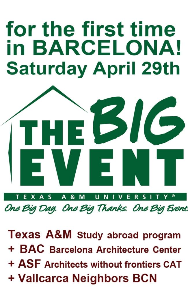 Big Event TAMU BCN