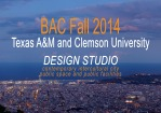 fall 2014 final projects