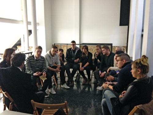 Hungarian students visit at the BAC