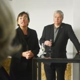 BAC celebration (Mercè Berengué, William Pelham, CAF Clemson Architectural Foundation President )