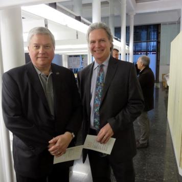 BAC celebration (William Pelham, Stephen White)