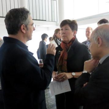 BAC celebration (Miguel Roldán, Kate Schwennsen, Lluís Comerón )