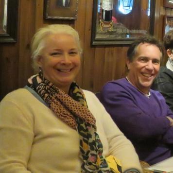 day 1_lunch at Casa Alfonso (Kate Schwennsen, Rick Goodstein, Cissie Goodstein, Clemson Barcelona graduate student Devin Carlson) _ photo by William Pelham
