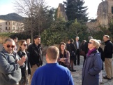 day 2_The Royal Abbey of Santa Maria de Poblet Cistercian monastery visit (Clemson Committee together with Clemson Barcelona students, Stephen White, Marion White and Mercè Berengué)