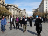 day 3_ Gothic Quarter walk (Clemson Committee, Stephen White, Marion White, Miguel Roldán, Zana Bosnic)