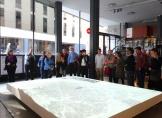 day 3_Architects Association COAC visit (Clemson Committee, Stephen White, Marion White, Miguel Roldán, Mercè Berengué)
