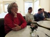 day 4_at la Pedrera cafè (Rachelle Mickel, Pamela Duran, Rick Goodstein, Cissie Goodstein)