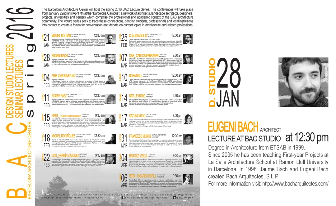 lecture BAC_Eugeni Bach1